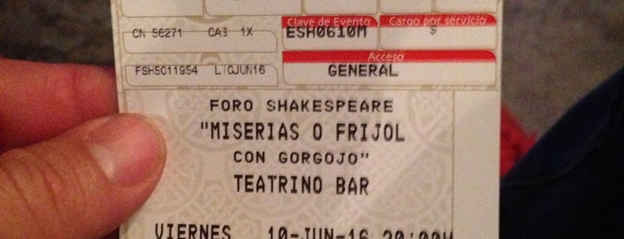 Foro Shakespeare is one of Lugares favoritos de Ivan.