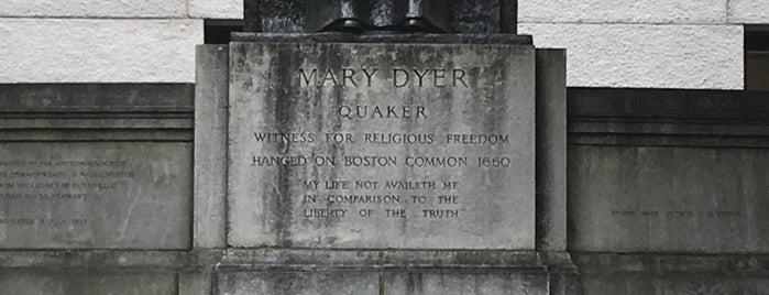 Mary Dyer Memorial Statue is one of Heath 님이 좋아한 장소.