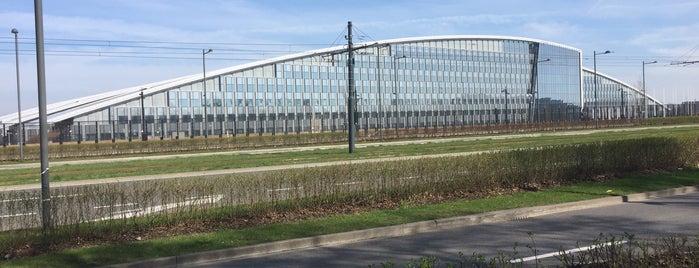 NATO Headquarters is one of Tempat yang Disukai Steven.