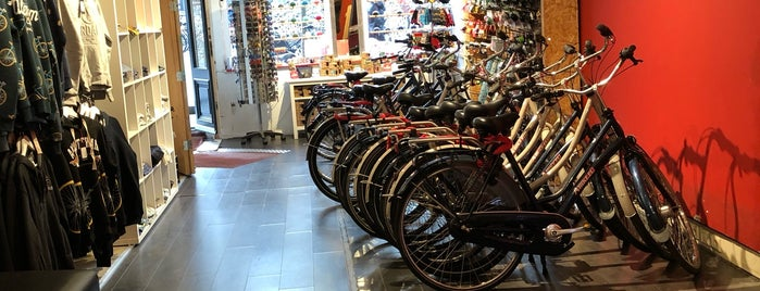 A-Bike Dam Square is one of Locais salvos de Thaís.