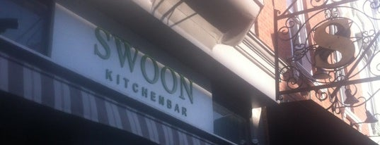 Swoon Kitchenbar is one of Hudson Spots.
