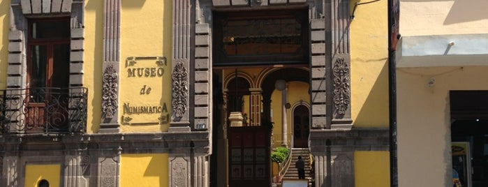 Museo de Numismática del Estado de Mexico is one of Victoria: сохраненные места.