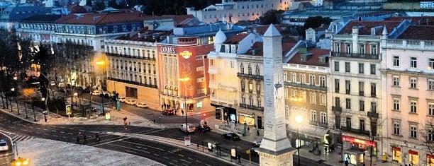 Praça dos Restauradores is one of Lissabon🇵🇹.