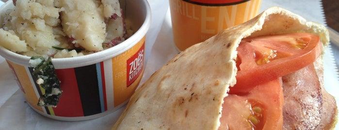 Zoës Kitchen is one of Locais curtidos por Daron.