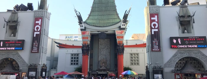 Norma Shearer's Foot Prints -  Grauman's Chinese  Theater is one of LA.