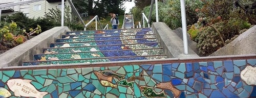 Golden Gate Heights Mosaic Stairway is one of Recommendations in San Francisco.