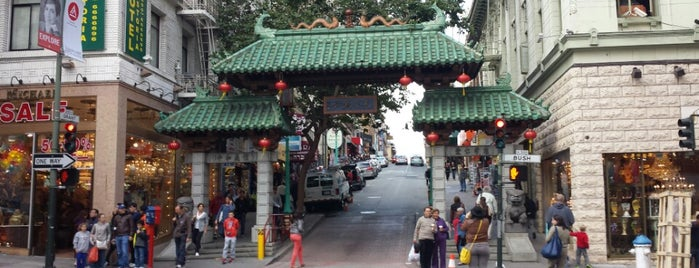 Chinatown is one of Recommendations in San Francisco.