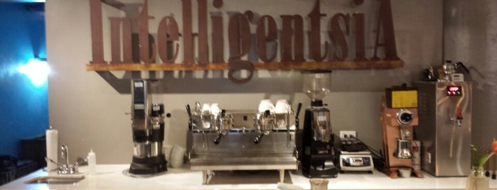 Intelligentsia Coffee is one of Chicago Coffee Shops to Check Out.
