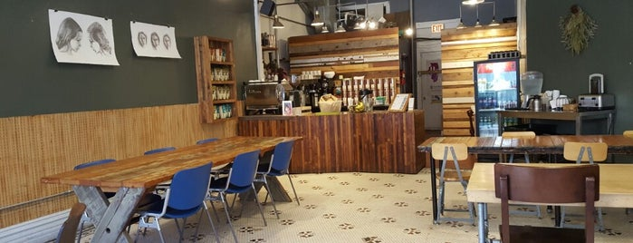 Dollop Coffee & Tea Co. is one of Chicago Coffee Shops to Check Out.