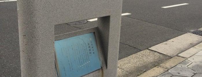 旧町名継承碑『東神田町』 is one of 旧町名継承碑.