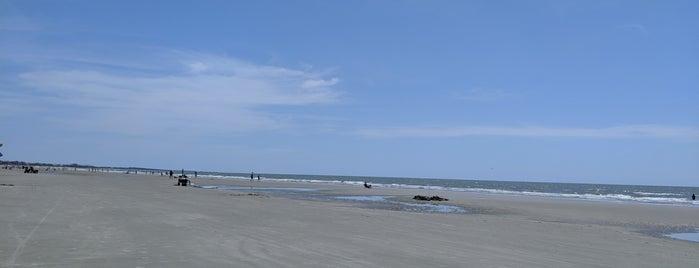 Kiawah Beach is one of สถานที่ที่ Betsy ถูกใจ.