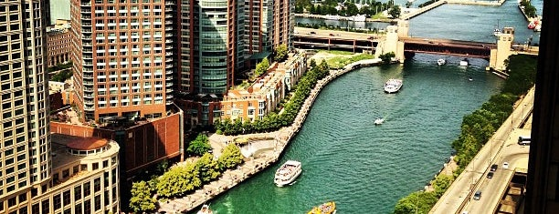 Chicago River is one of Chicago.