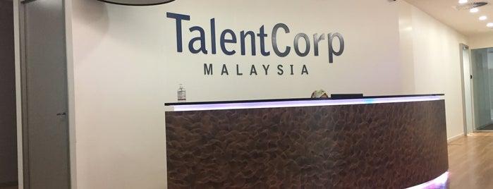 Talent Corporation Malaysia Berhad is one of Lieux qui ont plu à Dean.