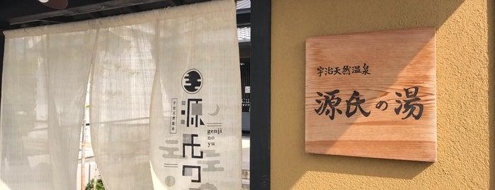 源氏の湯 is one of 訪れた温泉施設.