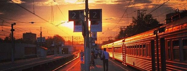 Ж/Д станция Химки is one of Orte, die Антон gefallen.