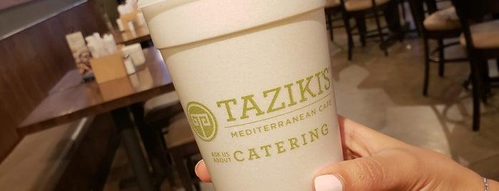 Taziki's Mediterranean Cafe is one of Cinci Work Food.