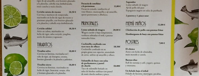 Ceviche 103 is one of #myhints4Barcelona.