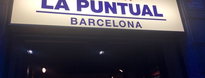 Bodega La Puntual is one of Barceloneando.