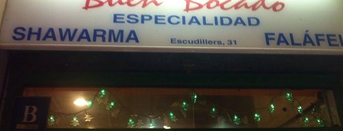 Buen Bocado is one of Kebab, shawarma, döner, etc....