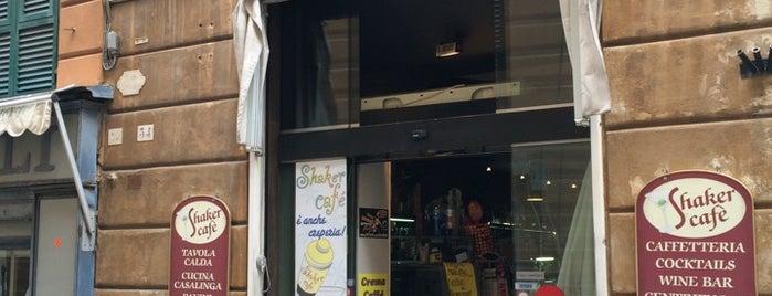 Shaker Cafè is one of √ Best Cafès & Bars in Genova.