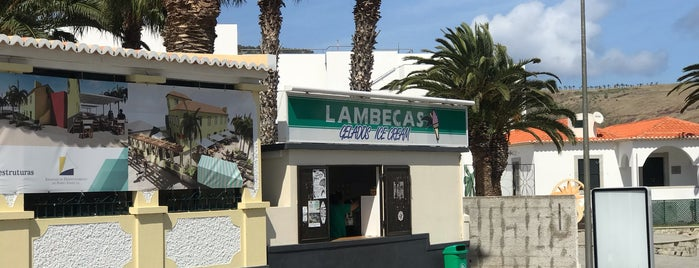 Lambecas is one of Locais salvos de P.