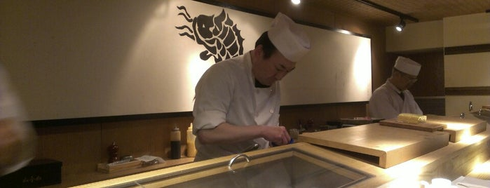Sushi Azabu is one of NYC Eat List.