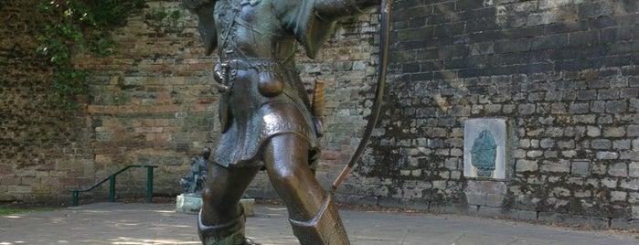 Robin Hood Statue is one of Lugares favoritos de Carl.