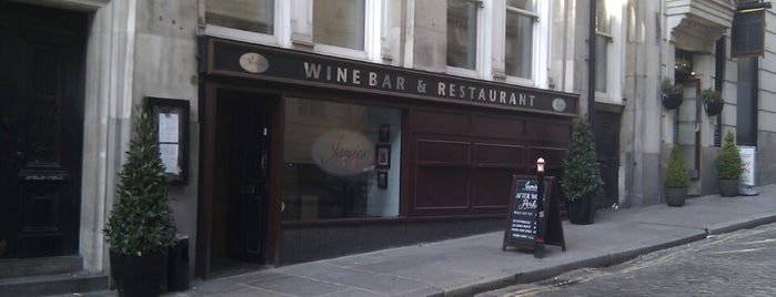 Jamie's Wine Bar and Restaurant is one of My London.
