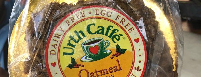 Urth Caffé is one of Meg : понравившиеся места.