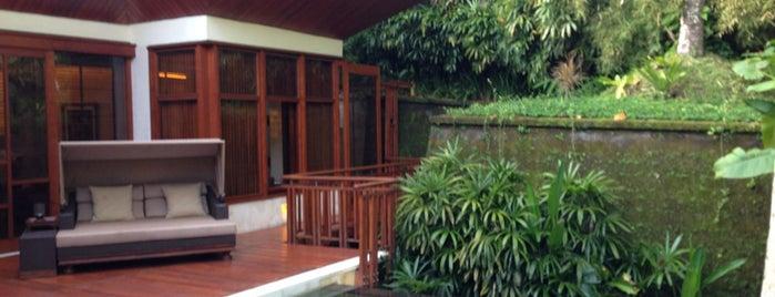 Four Seasons Resort Bali at Sayan is one of Condé Nast Traveler Platinum Circle 2013.