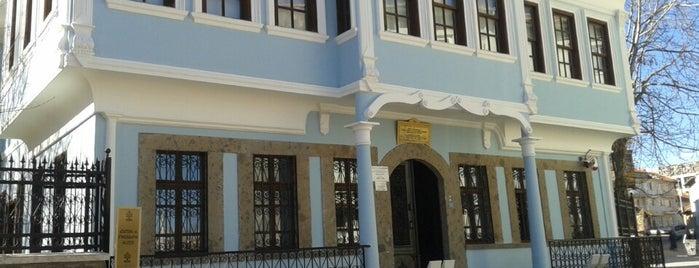 Uşak Atatürk ve Etnografya Müzesi is one of Antik kentler ve  müzeleri.