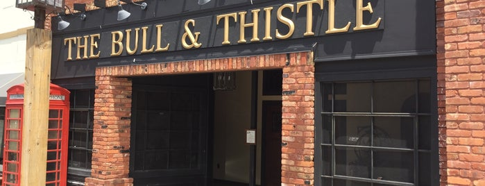 The Bull & Thistle Pub is one of Favorites.