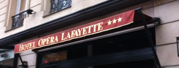 Hôtel Opéra La Fayette is one of PAR.