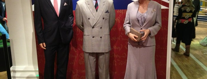 Madame Tussauds is one of London's Best Museums - 2013.