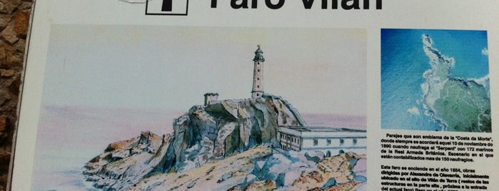 Faro de Cabo Vilán is one of Faros.