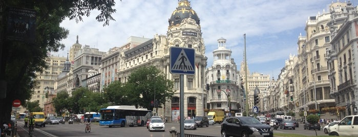 Café Circulo de Bellas Artes is one of Madrid (Comer / Beber).
