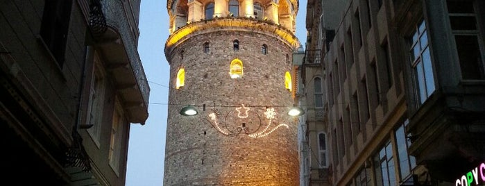 Galata is one of Must-Visit ... Istanbul.