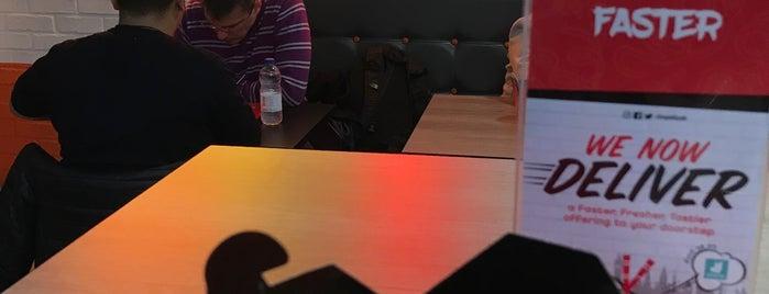 Chopstix Noodle Bar is one of Tempat yang Disukai Hilal.