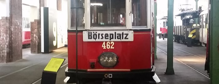Remise – Verkehrsmuseum der Wiener Linien is one of สถานที่ที่ Chris ถูกใจ.