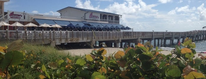 Benny's on the Beach is one of Best Water Views in Florida.