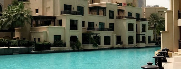 The Palace Downtown Dubai is one of 50 Best Swimming Pools in the World.