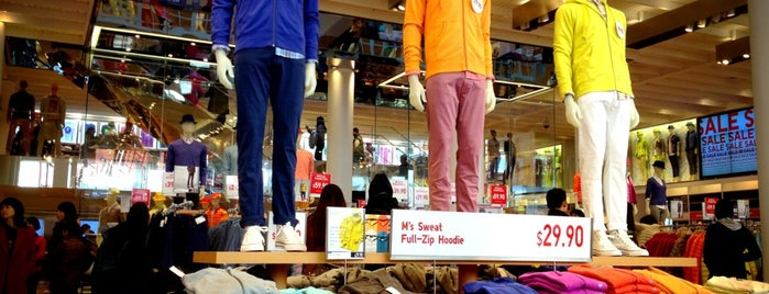 UNIQLO is one of Tom's Liked Places.