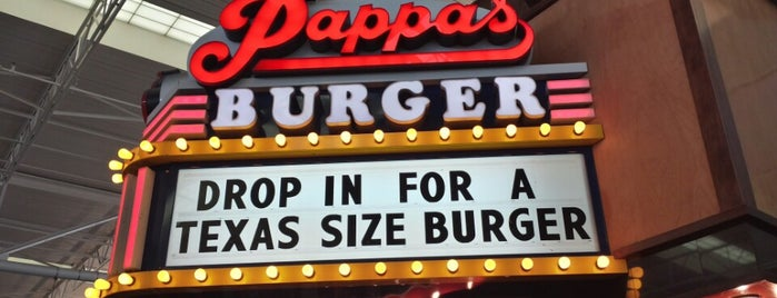 Pappas Burger is one of สถานที่ที่ Dave ถูกใจ.