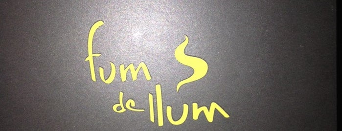 Fum De Llum is one of Valenci.