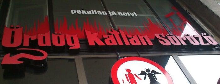 Ördög Katlan Sörözö is one of Igor 님이 좋아한 장소.