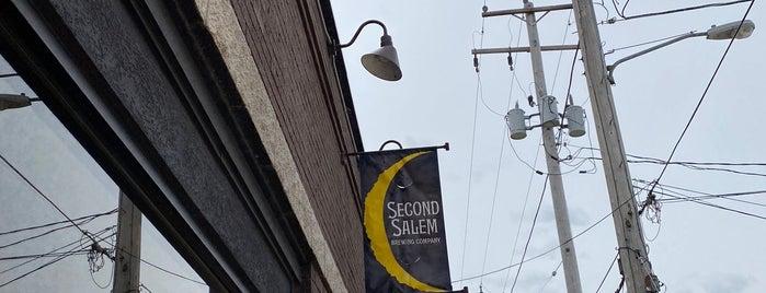 Second Salem Brewing Company is one of Vineyards, Breweries, Beer Gardens.