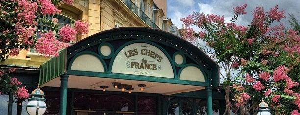 Chefs de France is one of Walt Disney World.