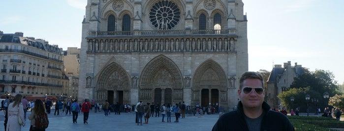 มหาวิหารน็อทร์-ดามแห่งปารีส is one of สถานที่ที่ Sarah ถูกใจ.