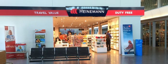 Heinemann Duty Free is one of Hannover-List.