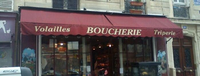 Boucherie de l'Abbé Grégoire is one of Roch'un Kaydettiği Mekanlar.